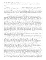 Bài phát biểu học sinh ngày nhà giáo Việt Nam hay