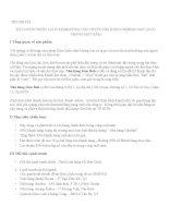 Bài tập marketing xây DỰNG CHIẾN lược MARKETING CHO CHUỖI NHÀ HÀNG GIMBAB hàn QUỐC TRONG một năm