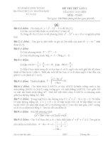 free đề thi thử môn toán trưpừng thpt lý thường kiệt lân 1