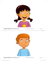family and friend Grade 1 flashcards
