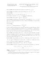 free đề thi thử môn toán trường thpt chuyên vinh lần 2