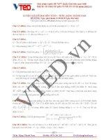 Free luyện giải đề 2016 môn toán thầy đặng thành nam đề số 03