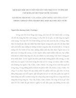 Kịch bản hội thi tuyên truyền viên trẻ về tư tưởng Hồ Chí Minh