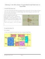 Thiết kế mạch điều khiển PID cho đối tượng bậc 2