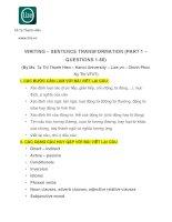 Viết lại câu 1 50 có đáp án kèm lời giải chi tiết