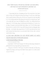 PHÁT TRIỂN MẠNG LƯỚI TRUNG TÂM HỌC TẬP CỘNG ĐỒNG GÓP PHẦN XÂY DỰNG MÔ HÌNH XÃ HỘI HỌC TẬP Ở TỈNH KIÊN GIANG