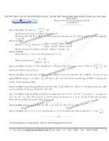 Đề thi thử môn toán 2016 trường thpt nguyễn đình chiểu lần 1
