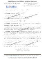 Đề thi thử môn toán 2016 trường thpt chuyên lê quý đôn đà nẵng
