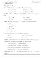 Chuyên đề: Bảng tuần hoàn các nguyên tố hóa học