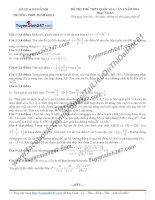 Đề thi thử môn toán 2016 trường thpt nguyễn thị minh khai hà nội lần 1