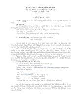 Kịch bản CHƯƠNG TRÌNH Đại hội Hội Khuyến học xã Thạnh Lợi Nhiệm kỳ 2015 2020