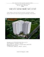 thuyet minh tkcs Cong Trinh DANANG LAKESIDE TOWER