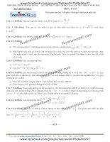 Đề thi thử môn toán 2016 trường thpt thăng long hà nội lần 1