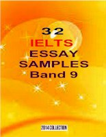 32 ielts essay samples band 9