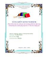 skkn phát triển tư duy học sinh qua việc sử dụng phiếu học tập trong kĩ thuật dạy học mảnh ghép dạy bài 15 tiêu hóa ở động vật