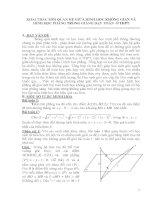 Khai thác mối quan hệ giữa hình học phẳng và hình học không gian trong giảng dạy toán ở THPT