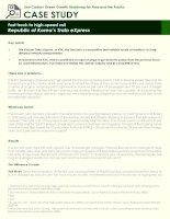 Case Study: republic of koreas train express