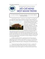Bài thu hoạch tư tưởng Hồ Chí Minh sau chuyến tham quan Bảo tàng Hồ Chí Minh, Bến cảng Nhà Rồng
