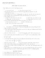 BÀI tập HINH HOC 10 CB CHƯƠNG 1,2,3