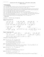 đề cương ôn tập học kì 1 toán 9 20152016