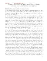 MỘT số KINH NGHIỆM ôn LUYỆN PHẦN lí LUẬN văn  cọc CHO học  SINH   đội TUYỂN HSG môn NGỮ văn