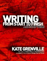 Writing from START to FINISH ( A six  step guide )