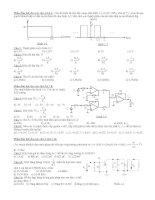 Bài tập kỹ thuật điện tử có giải