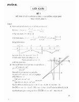 Ebook tuyển chọn và giải 66 đề thi môn toán luyện thi đại học   cao đẳng  phần 2