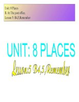 Unit 8  Places B45 (tiếng anh 7)
