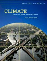 Climate causes and effects of climate change