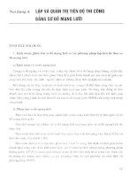 Ebook câu hỏi và bài tập thực hành tổ chức thi công xây dựng  phần 2