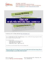 Bài mẫu IELTS writing task 2   IELTS fighter