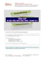 Bài mẫu IELTS writing task 2   IELTS fighter