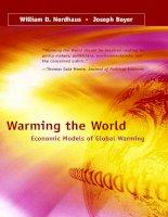 Warming the World Economic Models of  Global Warming
