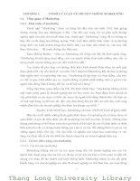 MỘT SỐ GIẢI PHÁP MARKETING NHẰM NÂNG CAO HIỆU QUẢ HOẠT ĐỘNG TRUYỀN THÔNG CỦA CÔNG TY CỔ PHẦN ĐẠI XUÂN