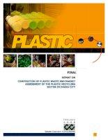 Plastic report study summary