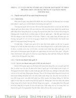 GIẢI PHÁP NÂNG CAO HIỆU QUẢ THANH TOÁN QUỐC TẾ THEO PHƯƠNG THỨC TÍN DỤNG CHỨNG TỪ TẠI NGÂN HÀNG NGOẠI THƯƠNG CHI NHÁNH HÀ NỘI