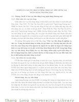 GIẢI PHÁP NÂNG CAO CHẤT LƯỢNG CHO VAY TIÊU DÙNG TẠI NGÂN HÀNG NÔNG NGHIỆP VÀ PHÁT TRIỂN NÔNG THÔN VIỆT NAM - CHI NHÁNH THÀNH PHỐ HƯNG YÊN