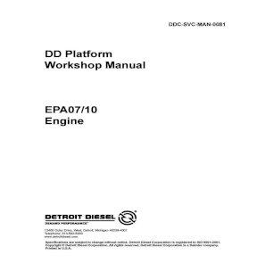 Freightliner DD15 DD13 Detroit Engine Isolator Front Mount Bracket Upper Lower