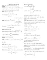Tài liệu giúp tự tin lấy 6 điểm môn toán