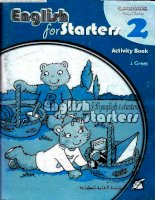 English for starters 2 activity book