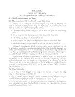 CHUONG III: ÐỘ CO DÃN CẦU, CUNG VÀ LÝ THUYẾT HÀNH VI NGƯỜI TIÊU DÙNG