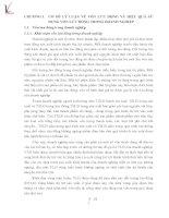 THỰC TRẠNG HIỆU QUẢ SỬ DỤNG VỐN LƯU ĐỘNG TẠI CÔNG TY CỔ PHẦN XÂY LẮP DẦU KHÍ TOÀN CẦU