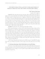 GIẢI PHÁP cơ bản NÂNG CAO CHẤT LƯỢNG HOẠT ĐỘNG sư PHẠM của đội NGŨ GIÁO VIÊN TRONG TRƯỜNG PHỔ THÔNG
