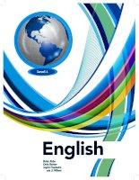 English book level 1 Teachers book