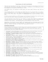 Fun english worksheets for kids ( Cực hay cho trẻ làm quen với tiếng anh )