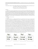XÂY DỰNG THUÂT TOÁN NHẬN DIỆN đặc TRƯNG SINH TRẮC học LÒNG bàn TAY PALMPRINT TRÊN nền TẢNG DI ĐỘNG