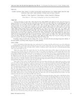 THIẾT kế bộ THU PHÁT TUYẾN TÍNH kết hợp NHẰM cải THIỆN BER TRONG hệ THỐNG CHUYỂN TIẾP MIMO TƯƠNG QUAN đa CHẶNG