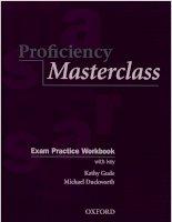 proficiency masterclass (exam practice workbook)