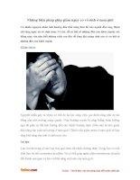 Những biện pháp giúp giảm nguy cơ vô sinh ở nam giới